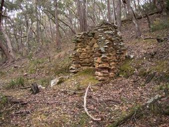 Nuggetty Gully hut site DB